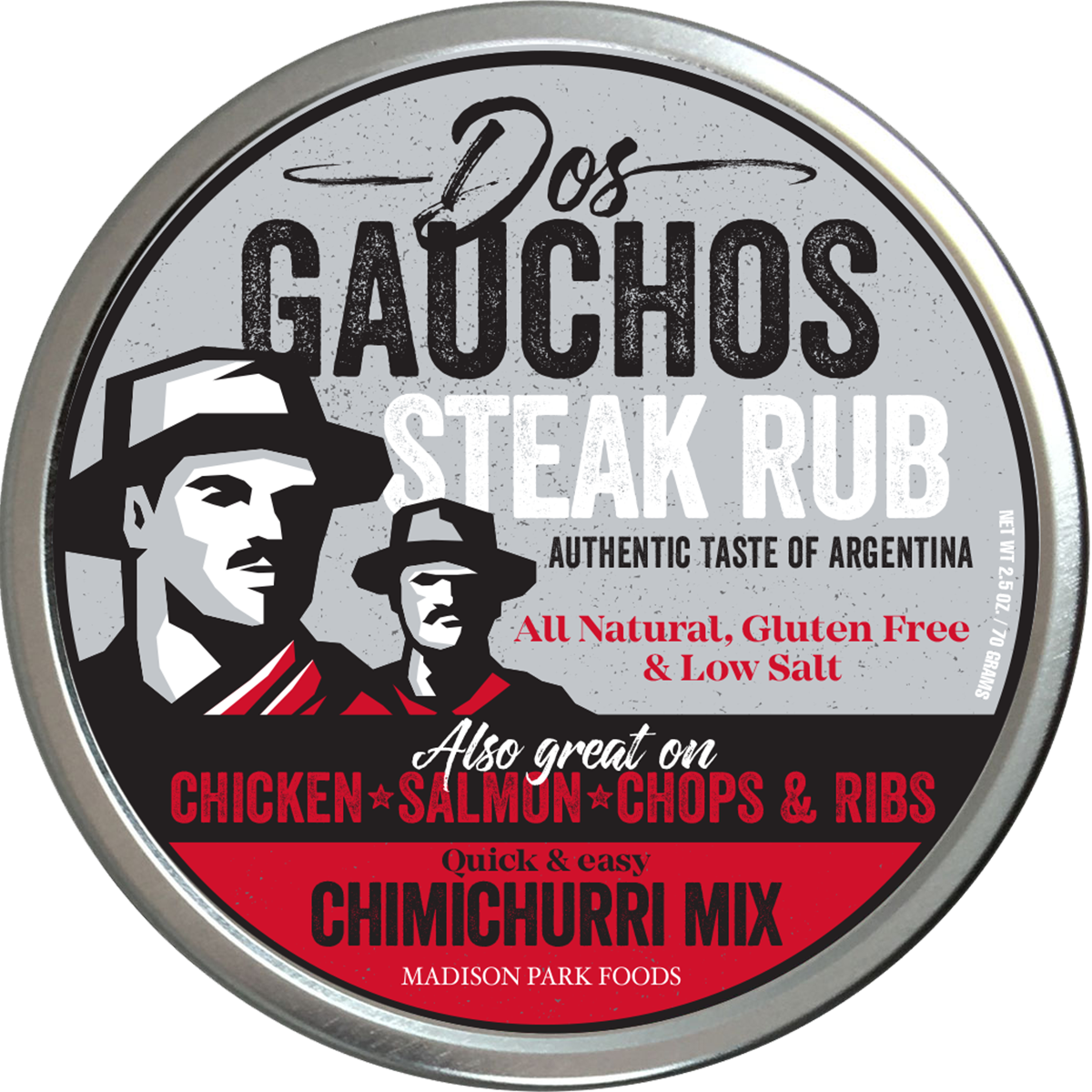 Dos Gauchos Steak Rub-Front