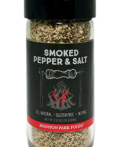 New smoked pepper and salt