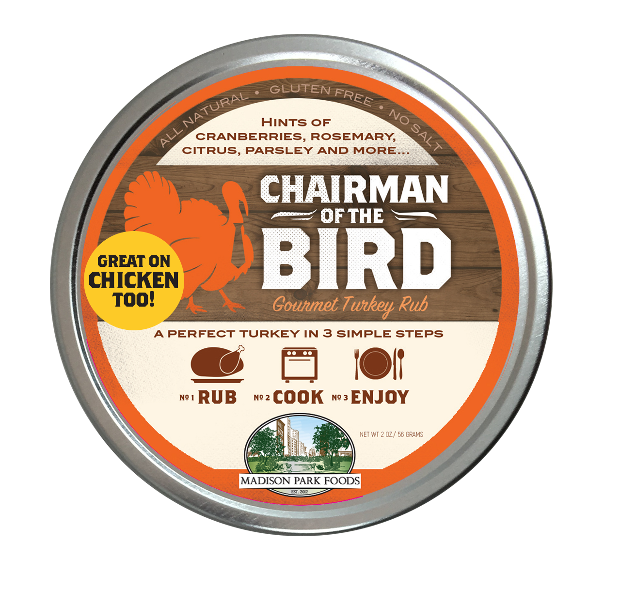 Chairman of The BirdAmerica's best seasoning rub for poultry and more